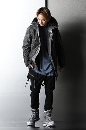 11 BY BORIS BIDJAN SABERI Cold-dyed item Winter styleing