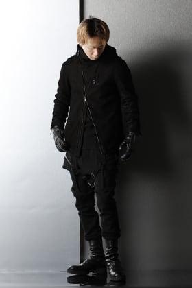 D.HYGEN - ディーハイゲン Destroy Deer skin Hooded jacket Style