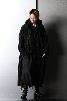 Ground Y - グラウンド ワイ & JULIUS - ユリウス Black layered Styling