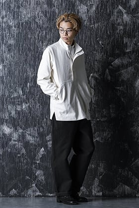 Yamauchi 20 -21 AW silk linen over jacket style