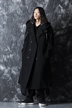 Yohji Yamamoto 20-21AW Practical Style with a Hooded Coat