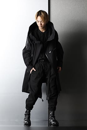 nude:masahiko maruyama - ヌード マサヒコマルヤマ Brand Basic Black Styling