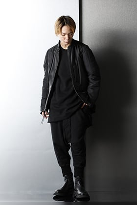 The Viridi-anne × JULIUS All Black Winter Styling