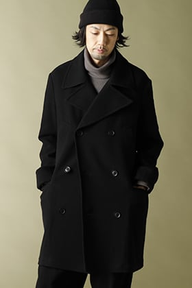 .LOGY Kyoto 20-21AW Ground Y Big pea coat winter Style