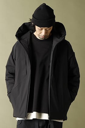 .LOGY Kyoto 20-21AW ATTACHMENT Hooded half coat Style