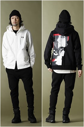 Y-3【GFX HOODIE】BLACK & WHITE Matching Outfits