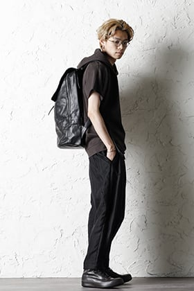 DEVOA 21SS hooded Short Sleeve and Backpack