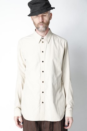 DEVOA - デヴォア 21SS サンドブラスト加工のシャツ