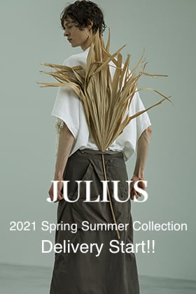 JULIUS 2021 Spring Summer Collection Delivery Start!!