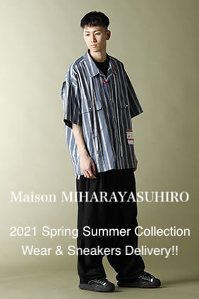 Maison MIHARAYASUHIRO - メゾン ミハラヤスヒロ 2021 Spring Summer Collection Wear & Sneakers Delivery!!