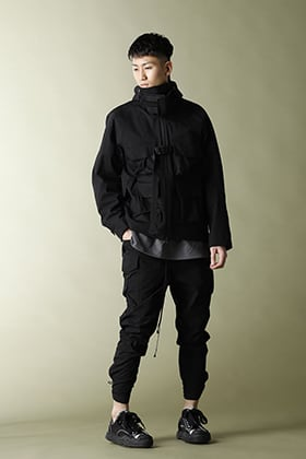The Viridi-anne 21SS【CORDURA NYLON COTTON 3Layer Mountain Jacket】Set Up Style!!