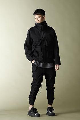 The Viridi-anne 21SS【CORDURA NYLON COTTON 3Layer Mountain Jacket】Set Up Style!!