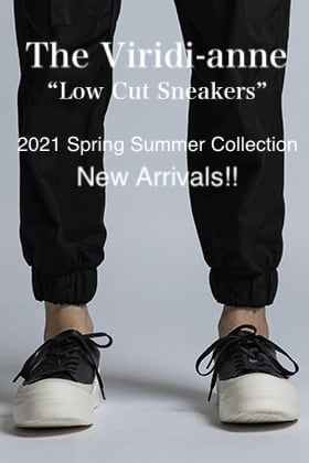 The Viridi-anne 2021SS Collection【Low Cut Sneakers】New Arrivals!!