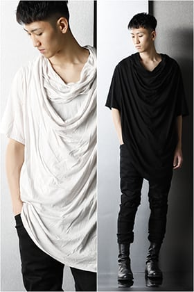 JULIUS 2021SS【DRAPE NECK T-SHIRT】Pick Up Blog