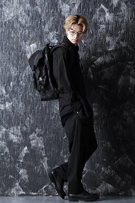Yohji Yamamoto 21SS ベーシックなシャツとパンツを合わせたスタイル