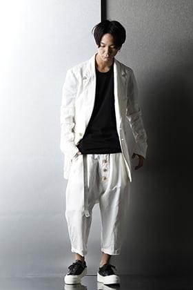 nude:masahiko maruyama 21SS Monotone color Styling