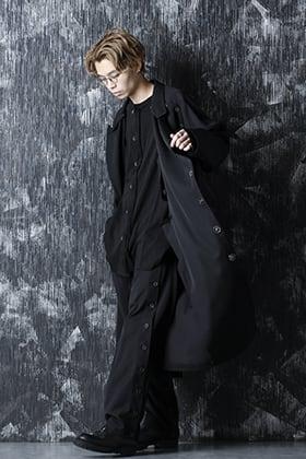 Yohji Yamamoto 21SS スプリングコートスタイル