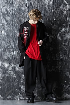 Yohji Yamamoto 21SS ポイントカラースタイル