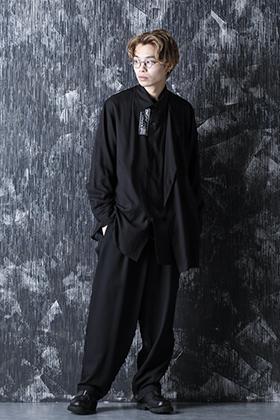 Yohji Yamamoto 21SS 左ダブルテンセル ブラウス スタイル