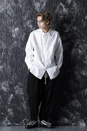 Yohji Yamamoto 21SS simple shirt style.