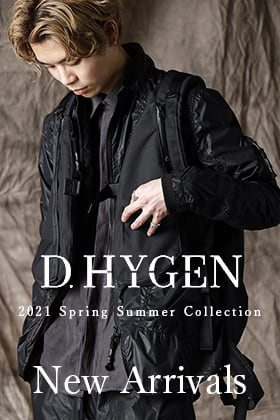 A new item from D. HYGEN 21 SS is now in stock.