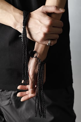 JULIUS - ユリウス 2021SS【Linen Cord Bracelet】Pick Up Blog