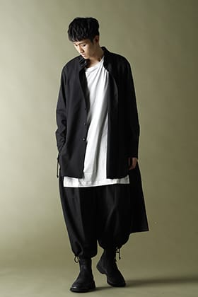 Ground Y【Back Long Shirt】Layered Cordinate!!