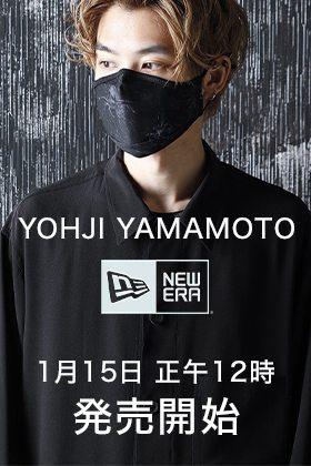 ヨウジヤマモト × ニューエラ スカル&ローズ マスク 1月15日(金) 販売開始!