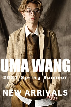 UMA WANG 21SS New items are now in stock!