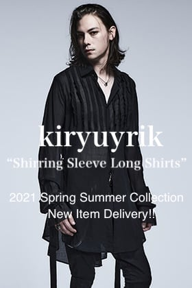 kiryuyrik 2021SS Collection New Item【Shirring Sleeve Long Shirts】