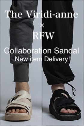 The Viridi-anne × RFW Collaboration Sandal Delivery!!