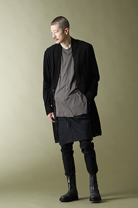 .LOGY Kyoto JULIUS 21SS LAYERED NECK T-SHIRT STYLE!!
