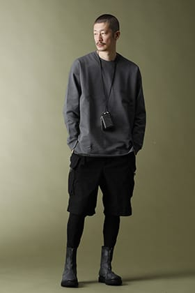 21SS The Viridi-anne【Mercerized Cotton Sweat Pullover】Layered Cordinate!!