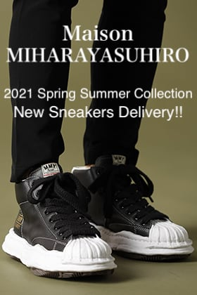 Maison MIHARAYASUHIRO - メゾン ミハラヤスヒロ 2021SS Collection【Original STC sole Sneakers】New Item!!