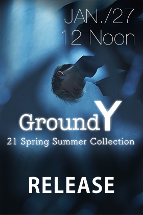 Ground Y 21 SS Releasing January 27th at 12 noon!