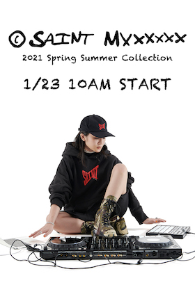 ©️SAINT M×××××× 21 SS Collection 1/23 (Sat) Available from 10 AM (JPT)!
