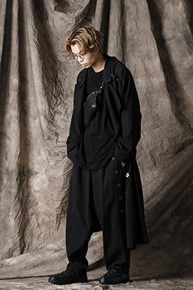 Yohji Yamamoto 21SS ユニークレイヤードスタイル