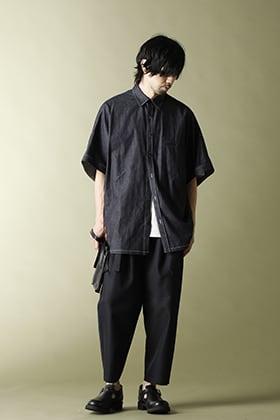 .LOGY Kyoto 21SS Ground Y(グラウンドワイ)ドルマンS/S ビッグシャツスタイル!!