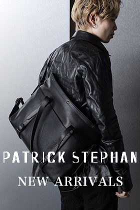 PATRICK STEPHAN(パトリック ステファン)が入荷しました。