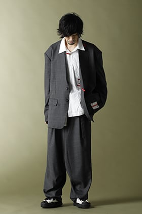 Maison MIHARAYASUHIRO - メゾンミハラヤスヒロ 【Over-sized Wool Jacket & Saruel Pants】Set-up style!!