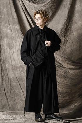 Yohji Yamamoto 21SS シャツコートスタイル