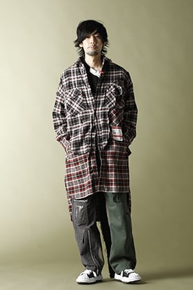 Maison MIHARAYASUHIRO - メゾンミハラヤスヒロ【Broken Layer Long Shirts】military styling!!