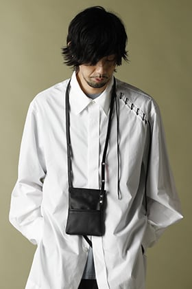 KAZUYUKI KUMAGAI【Finx Broad cloth L/S Lace up Shirt】Spring Style!!