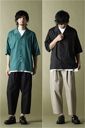 ATTACHMENT × KAZUYUKI KUMAGAI 2021SS 2 color outfit Style!!