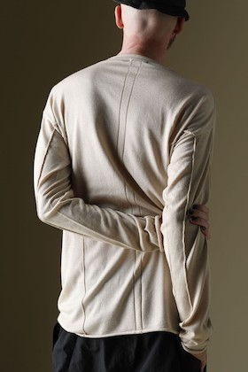 DEVOA 21 SS Knit Long Sleeve Silk/Cashmere