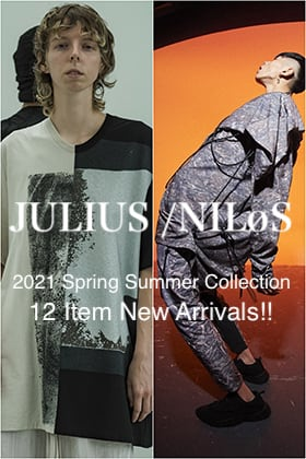 JULIUS & NILøS 2021SS Collection 12 Item New Arrivals!!