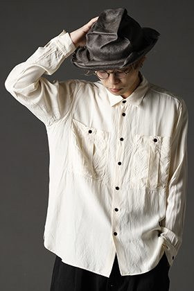 ANNASTESIA/KLASICA rayon shirt style