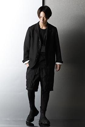 The Viridi-anne × Suzuko Momoyama Linen Broad Jacket Spring style