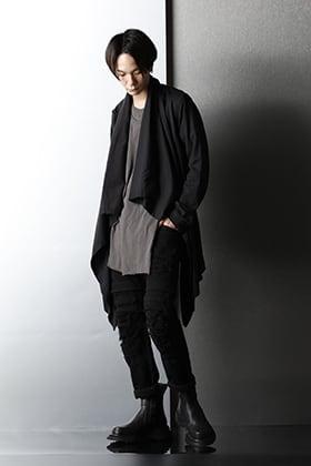 JULIUS - ユリウス 2021SS Black Slim Spring style