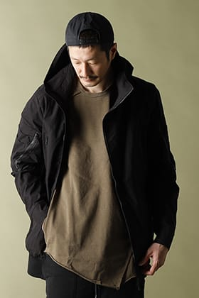 RIPVANWINKLE - リップヴァンウィンクル 21SS【BAKER JERSEY】TACTICAL HOODIE STYLE!!